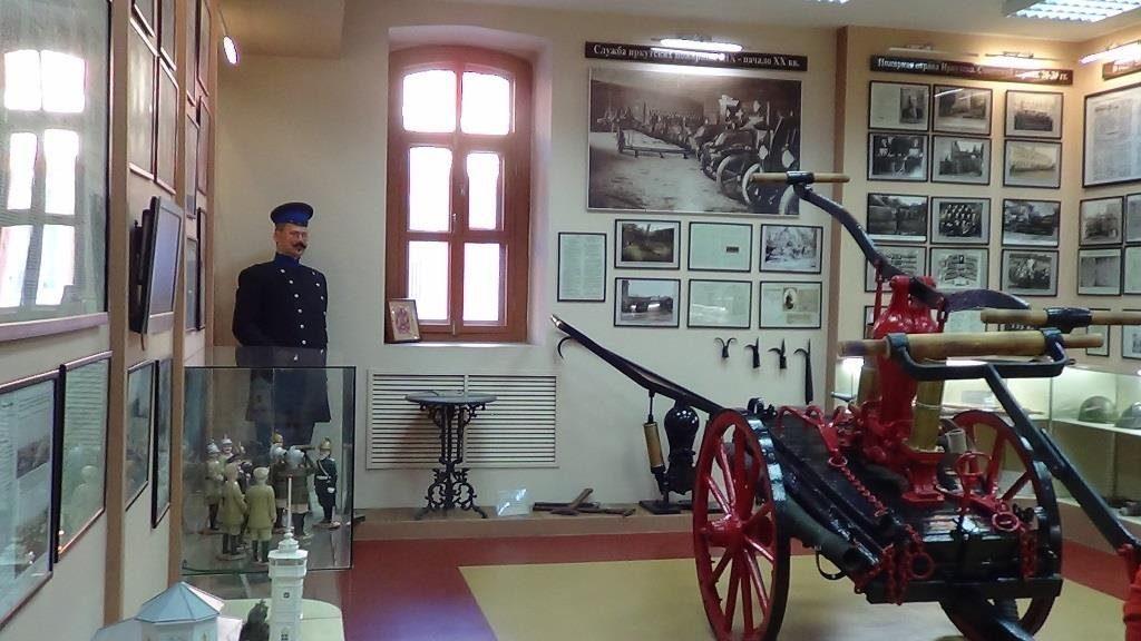 Новочеркасск. Экскурсия в Музей пожарной охраны