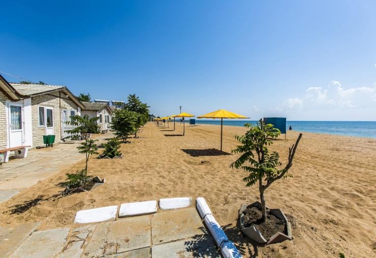 Феодосия. Туристско-оздоровительный комплекс «Золотой пляж»