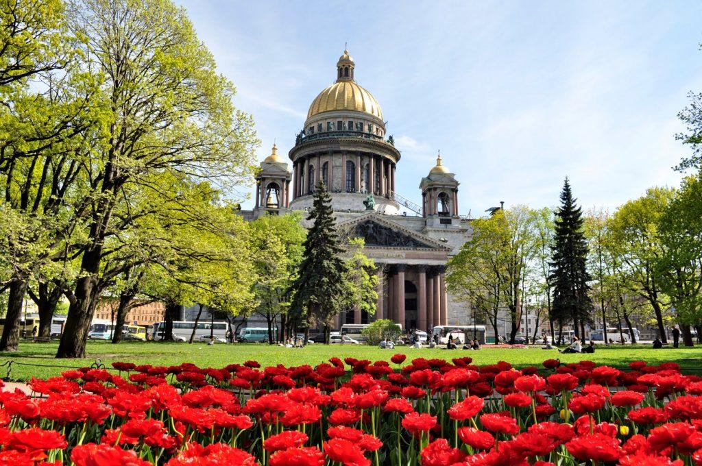 Майские празднике в Санкт-Петербурге