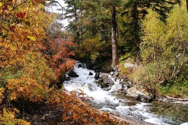 Осень в Архызе.